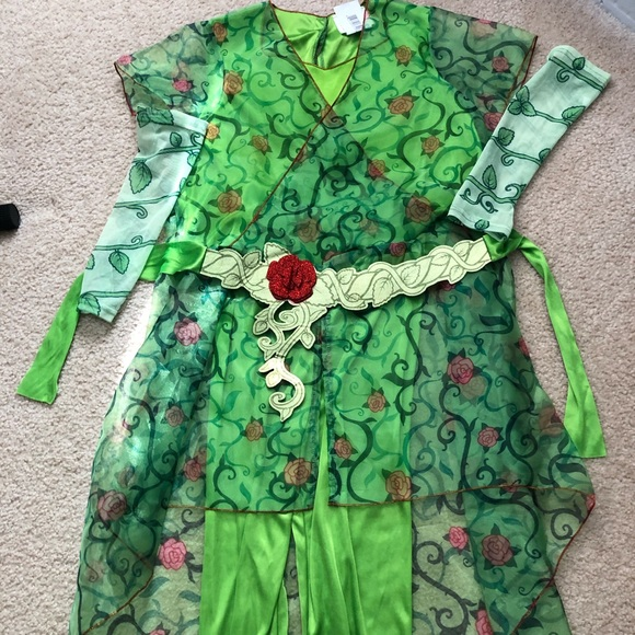 Girl's Poison Ivy DC Costume